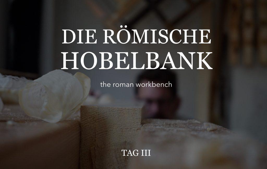 Römische Hobelbank (3)